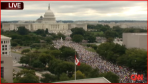 Estimates of hundreds of thousands to millions of people showed up in DC on 9/12/09 to protest against Obama and his plans for our country.